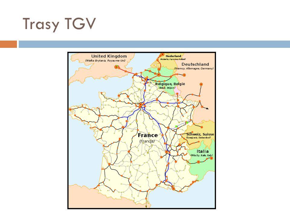 Trasy TGV