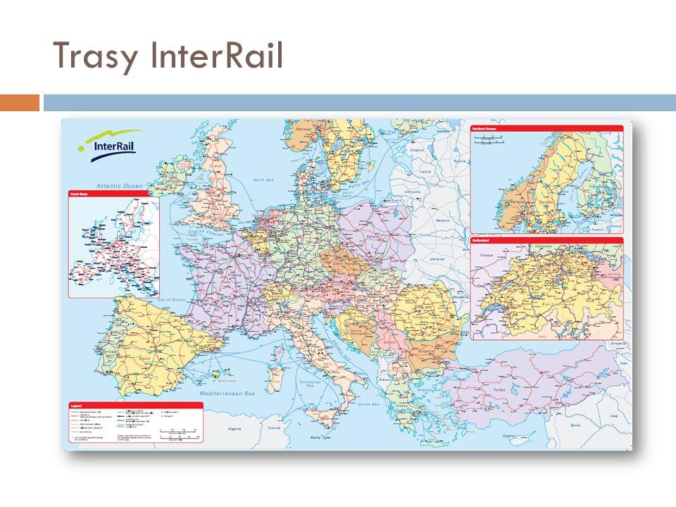 Trasy InterRail