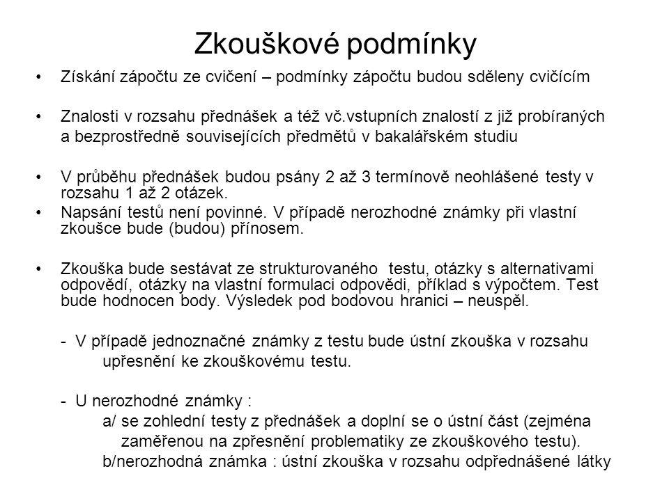 Podklady ke studiu SZ Zákon č.183/2006Sb. o územním plánování a stavebním řádu ZVZ Zákon č.