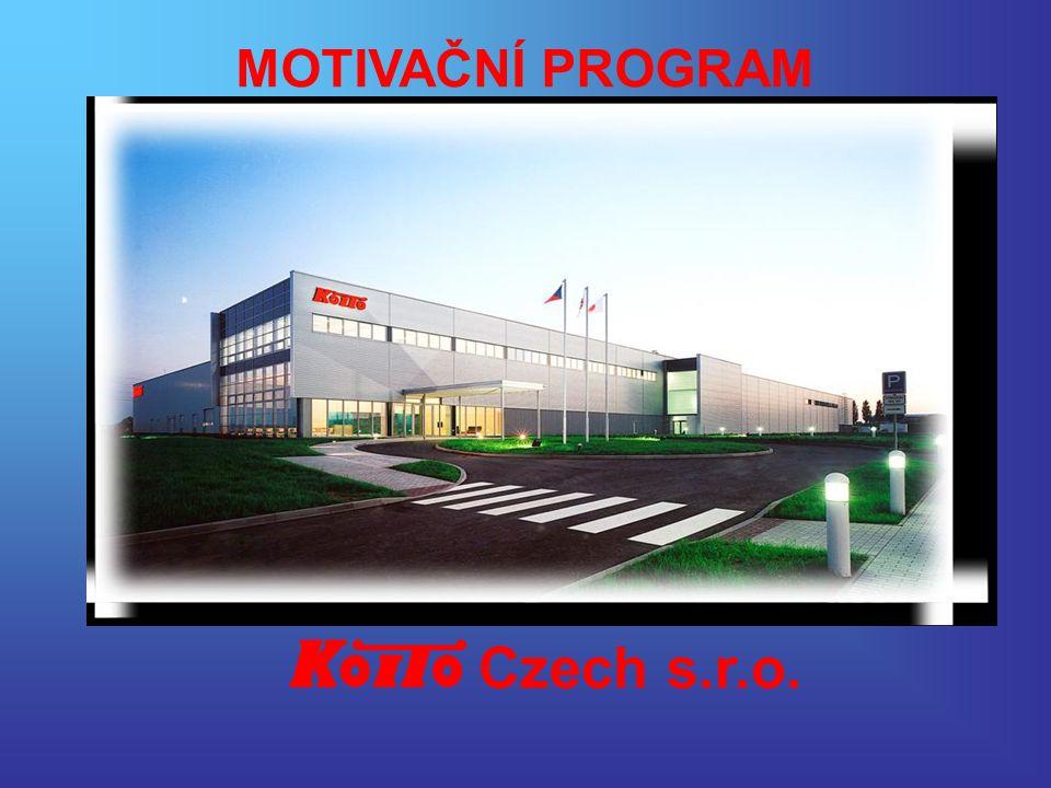Czech s.r.o. MOTIVAČNÍ PROGRAM