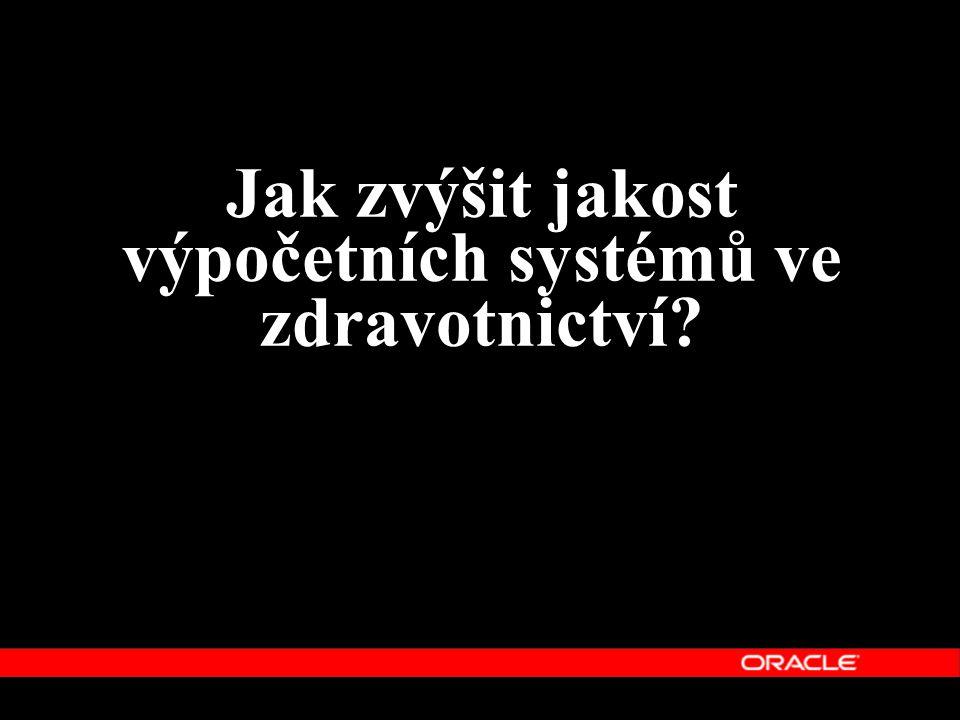 Jak zvýšit jakost výpočetních systémů ve zdravotnictví?