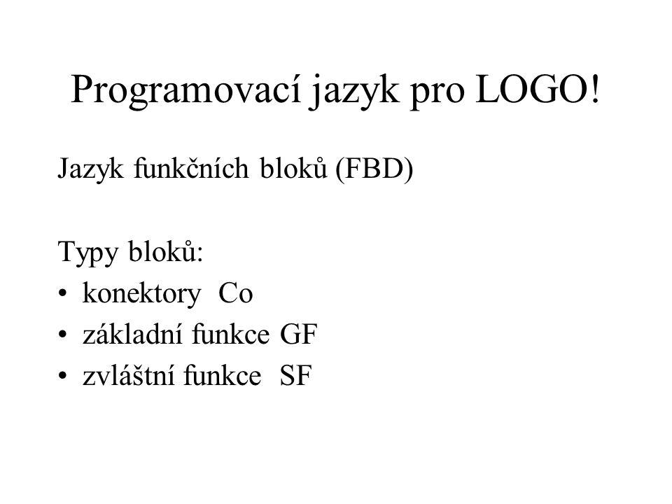 Programovací jazyk pro LOGO.
