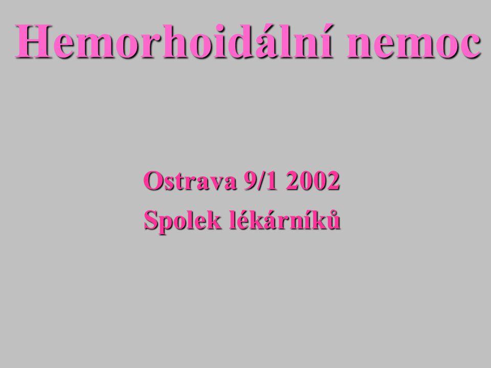 Ostrava 9/1 2002 Spolek lékárníků