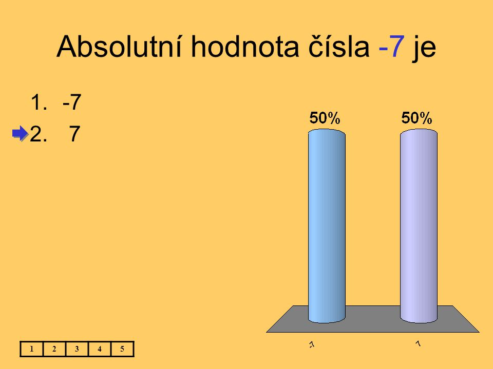 (6 – 14) : (7 – 9) = 12345 1. 16 2.-16 3. 4 4.-4