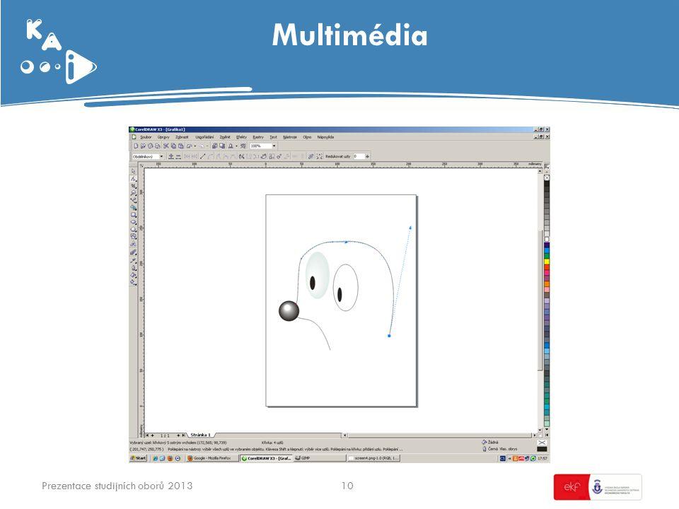 Multimédia 10Prezentace studijních oborů 2013