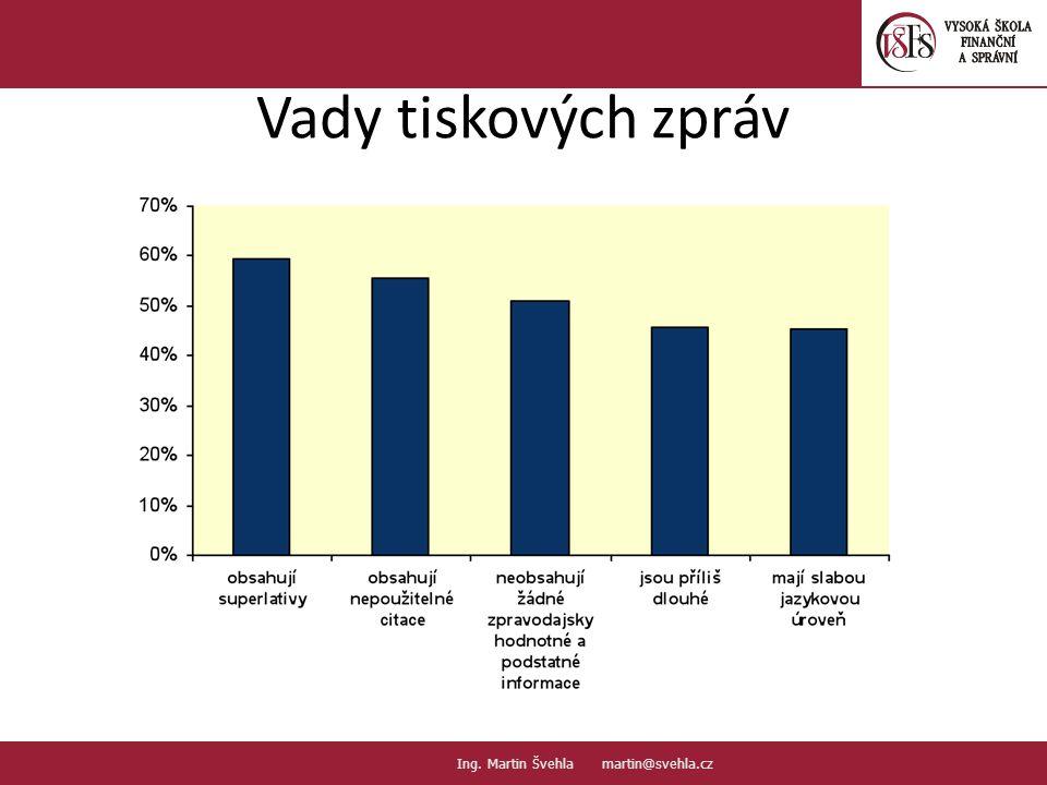Vady tiskových zpráv 17. PaedDr.Emil Hanousek,CSc., 14002@mail.vsfs.cz :: Ing.