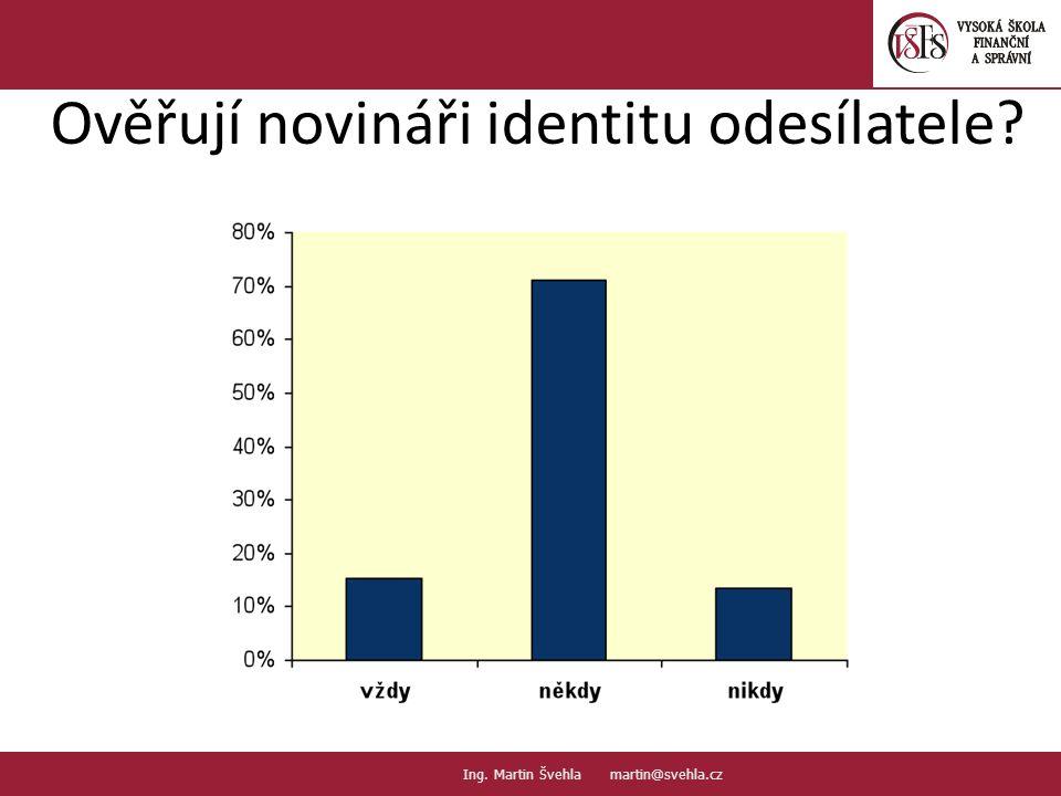 Ověřují novináři identitu odesílatele. 25. PaedDr.Emil Hanousek,CSc., 14002@mail.vsfs.cz :: Ing.