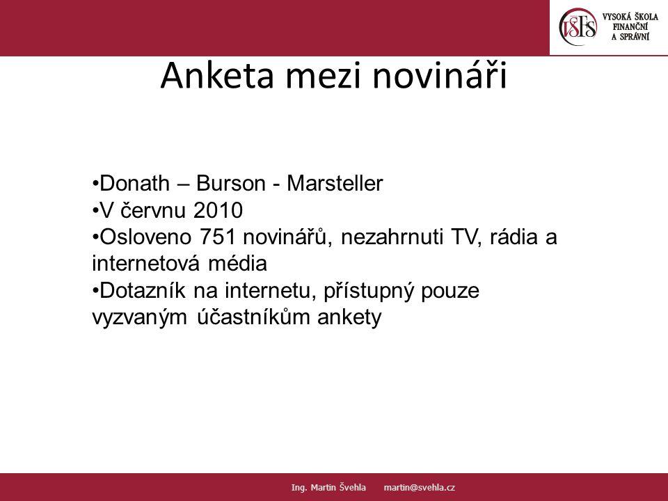 Anketa mezi novináři 27. PaedDr.Emil Hanousek,CSc., 14002@mail.vsfs.cz :: Ing.