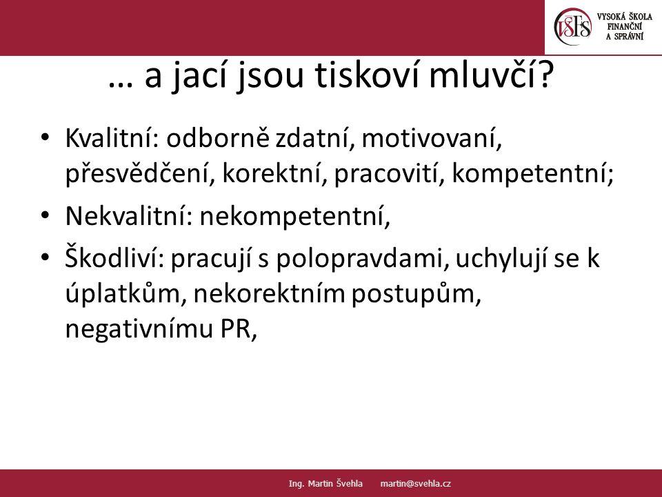 Co novináři čtou 15.PaedDr.Emil Hanousek,CSc., 14002@mail.vsfs.cz :: Ing.