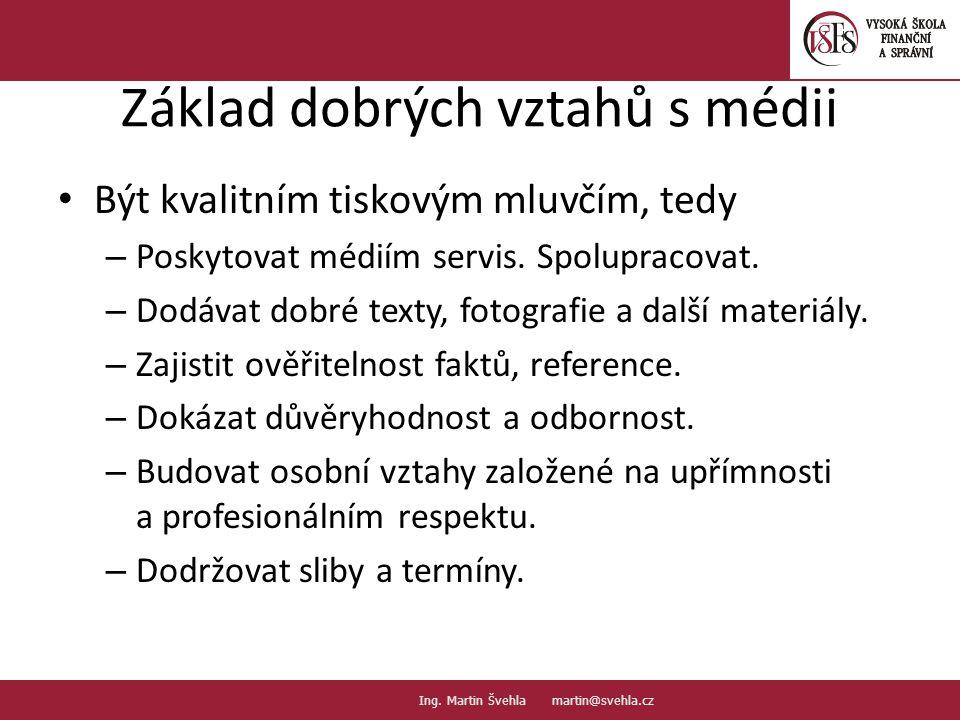 Tiskových zpráv je málo nebo moc.16. PaedDr.Emil Hanousek,CSc., 14002@mail.vsfs.cz :: Ing.