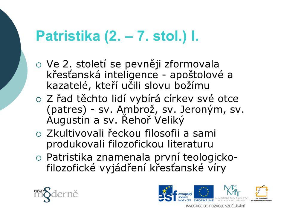 Patristika II.
