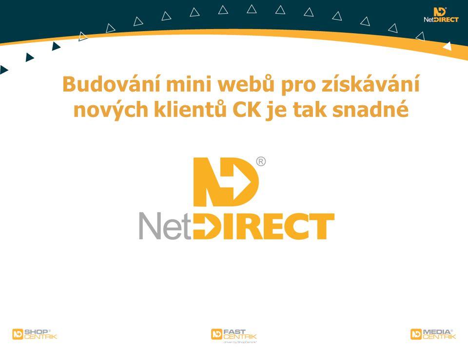 Budování mini webů pro získávání nových klientů CK je tak snadné