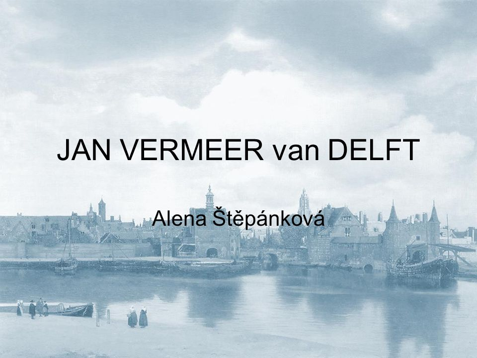Pohled na město Delft