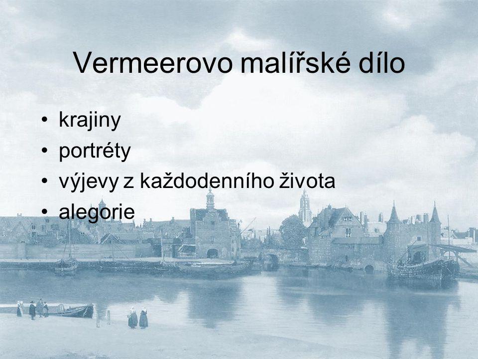 Alegorie malířství (Ateliér) spojitost s malířským cechem sv.