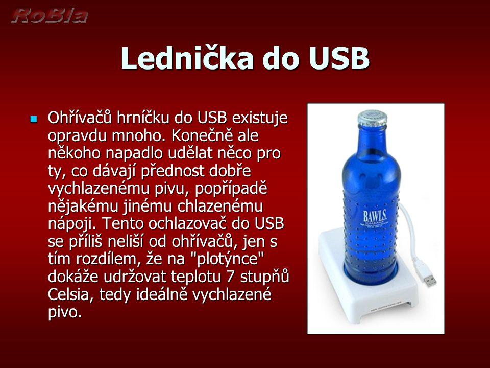 Lednička do USB Ohřívačů hrníčku do USB existuje opravdu mnoho.