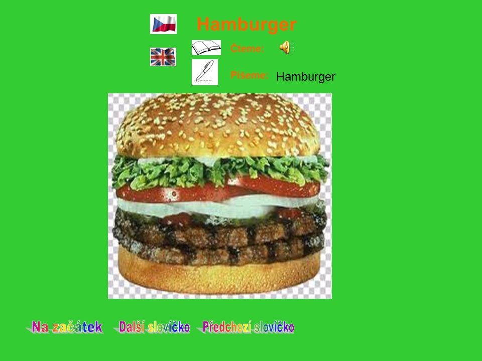 Hamburger Čteme: Píšeme: Hamburger
