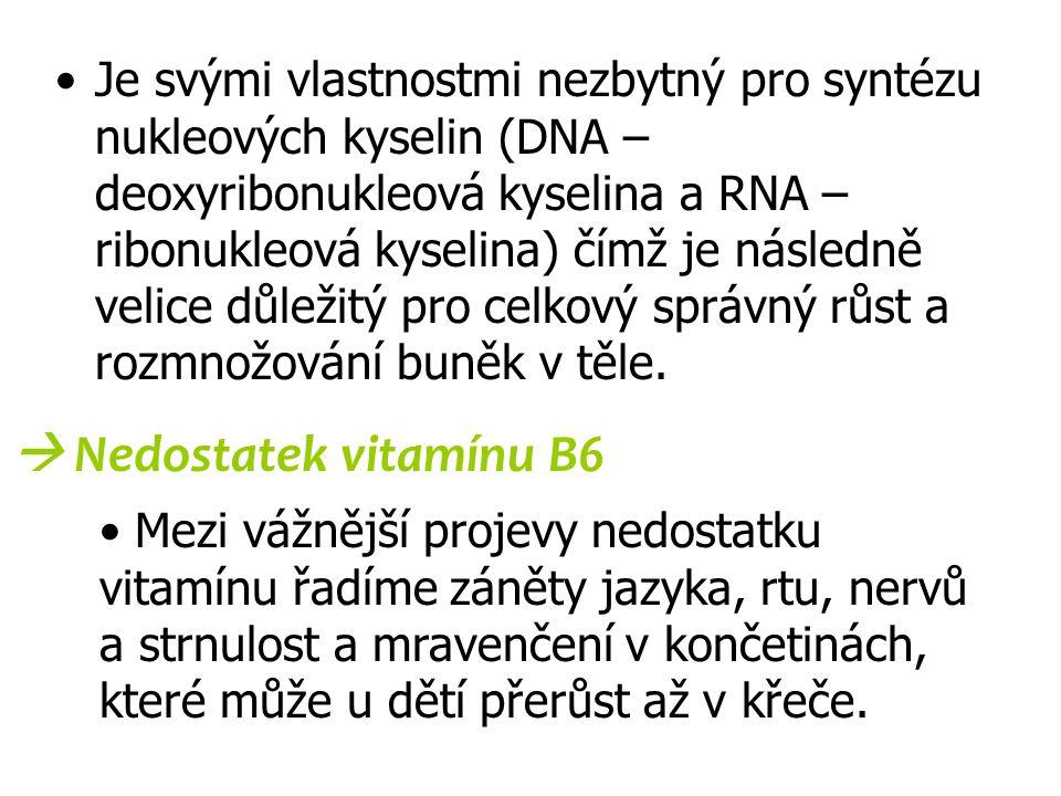 Je svými vlastnostmi nezbytný pro syntézu nukleových kyselin (DNA – deoxyribonukleová kyselina a RNA – ribonukleová kyselina) čímž je následně velice