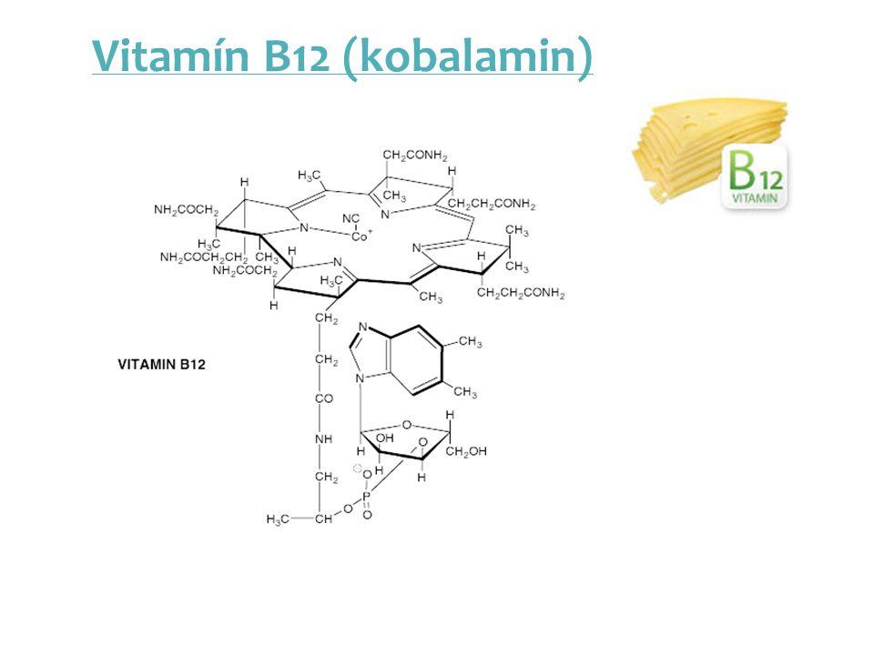 Vitamín B12 (kobalamin)