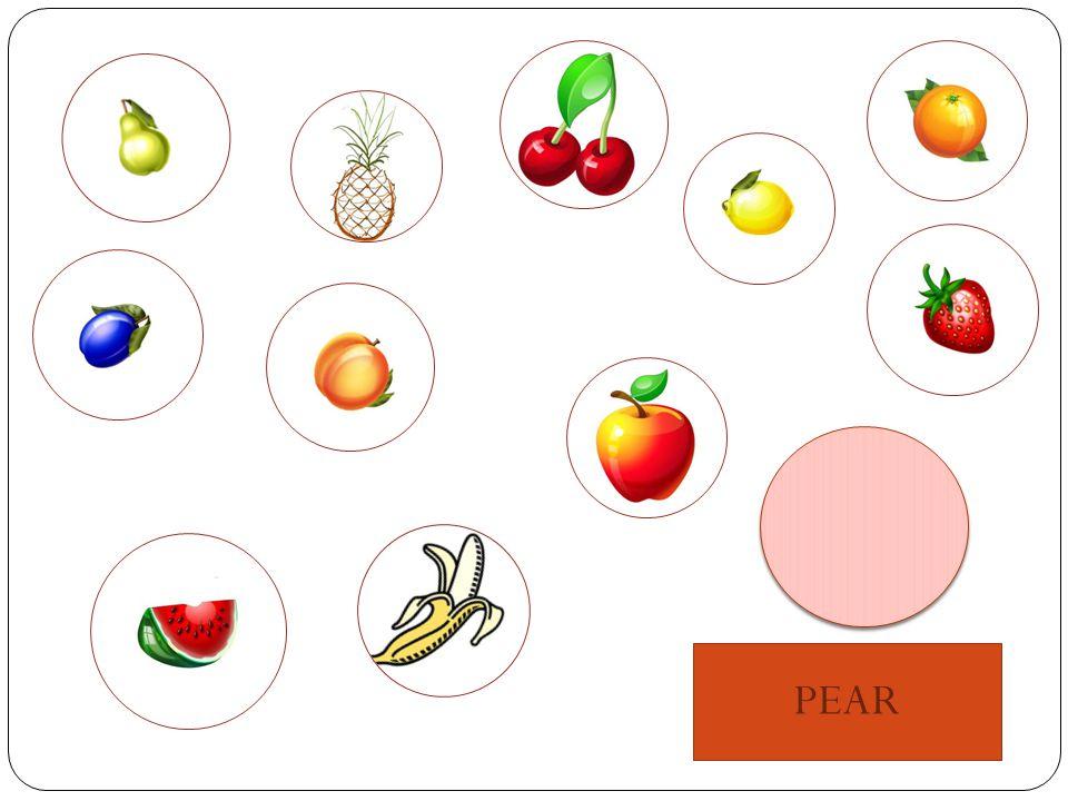 Obrazový materiál je dostupný pod licencí Microsoft Office na WWW: OVOCE: http://office.microsoft.com/cs- cz/images/results.aspx?qu=ovoce&ex=2&AxInstalled=copy&Download=MP900438787&ext=JPG&c=0#ai:MP900438787  HRUŠKA: http://office.microsoft.com/cs-cz/images/results.aspx?qu=HRU%C5%A0KA&ex=1#ai:MC900436906  JABLKO: http://office.microsoft.com/cs-cz/images/results.aspx?qu=CITR%C3%93N&ex=1#ai:MC900436892  BANÁN: http://office.microsoft.com/cs-cz/images/results.aspx?qu=BAN%C3%81N&ex=1#ai:MC900215358  ANANAS: http://office.microsoft.com/cs-cz/images/results.aspx?qu=ANANAS&ex=1#ai:MC900428243  ŠVESTKA: http://office.microsoft.com/cs-cz/images/results.aspx?qu=%C5%A0VESTKA&ex=1#ai:MC900436910  JAHODA: http://office.microsoft.com/cs-cz/images/results.aspx?qu=JAHODA&ex=1#ai:MC900436899  BROSKEV: http://office.microsoft.com/cs-cz/images/results.aspx?qu=BROSKEV&ex=1#ai:MC900436905  MELOUN: http://office.microsoft.com/cs-cz/images/results.aspx?qu=MELOUN&ex=1#ai:MC900436903  POMERANČ: http://office.microsoft.com/cs-cz/images/results.aspx?qu=POMERAN%C4%8C&ex=1#ai:MC900436894  TŘEŠNĚ: http://office.microsoft.com/cs-cz/images/results.aspx?qu=T%C5%98E%C5%A0N%C4%9A&ex=1#ai:MC900441719 