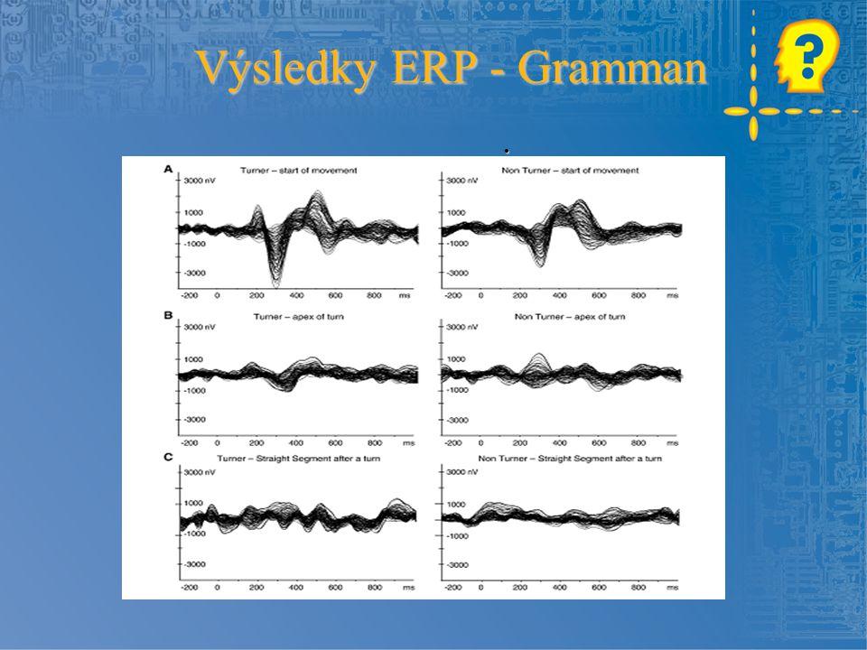 . Výsledky ERP - Gramman