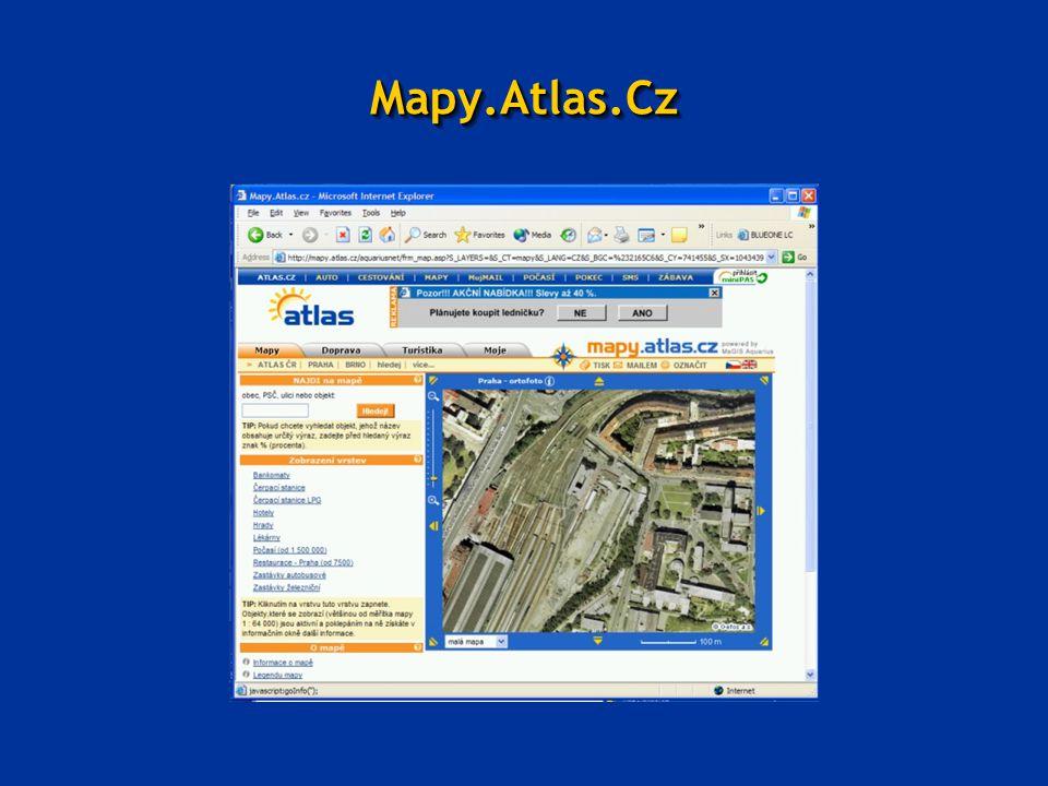 Mapy.Atlas.CzMapy.Atlas.Cz