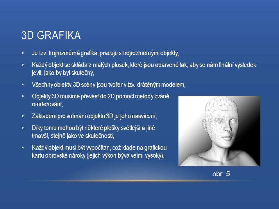 3D GRAFIKA obr. 5 Je tzv.