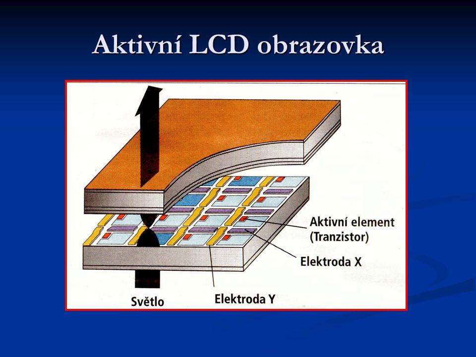 Aktivní LCD obrazovka