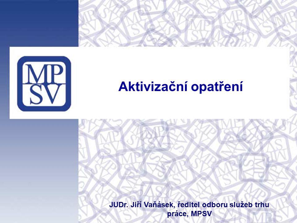 Úvod  Aktivizační opatření jsou jedním z dokumentů mající za cíl implementovat cíle vymezené ve Strategii politiky zaměstnanosti (časový horizont v letech 2014/2017)  Smyslem a cílem aktivizačních opatření je zvýšení zaměstnanosti  Aktivizační opatření navazují na koncepční a strategické materiály vlády, přičemž jsou provázána s Akčním plánem vlády na podporu hospodářského růstu a zaměstnanosti v ČR  Realizace bude prostřednictvím závazného harmonogramu s jasnou odpovědností za splnění konkrétních opatření  Navrženo celkem 37 opatření legislativní i nelegislativní povahy tel: 950 193 254, e-mail: jiri.vanasek@mpsv.cz, www.mpsv.cz, www.noviny-mpsv.cz Ministerstvo práce a sociálních věcí, odbor služeb trhu práce