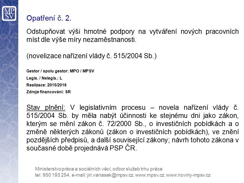 Opatření č.23.