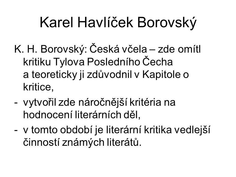 Karel Havlíček Borovský K. H.
