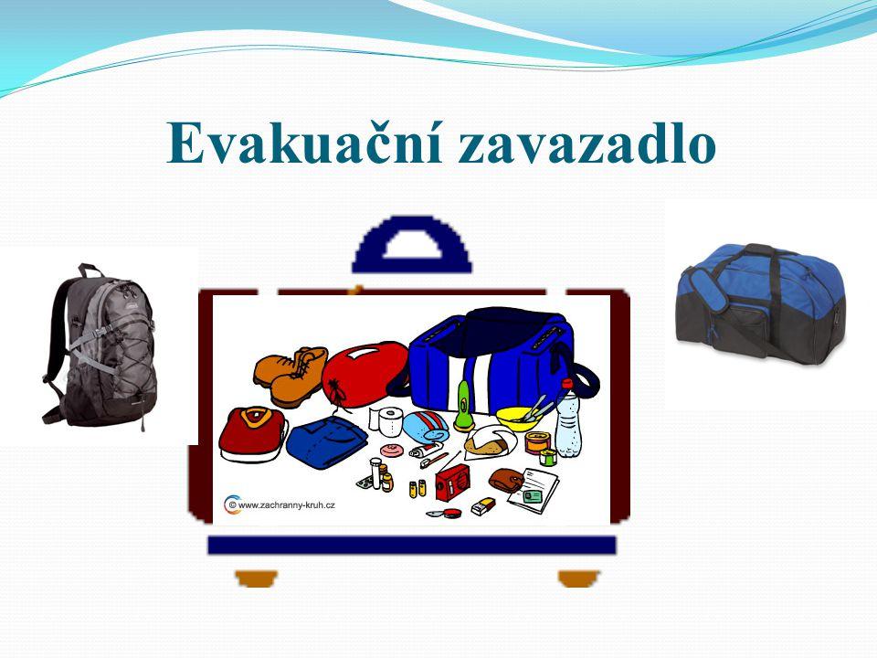 Evakuační zavazadlo