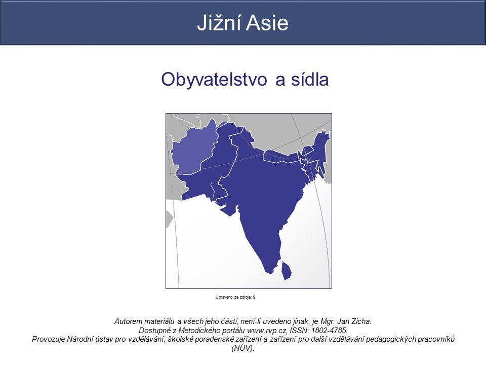 Obyvatelstvo a sídla Autorem materiálu a všech jeho částí, není-li uvedeno jinak, je Mgr. Jan Zicha. Dostupné z Metodického portálu www.rvp.cz, ISSN: