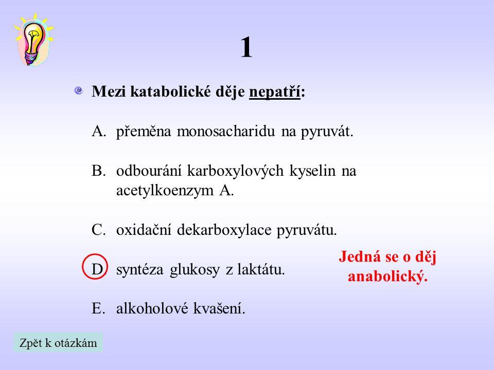 Z následujících možností vyberte vzorec kyseliny pyrohroznové: 2 Kyselina mléčná Kyselina propanová Propanal2,3-dihydroxypropanal Kyselina pyrohroznová = Kyselina 2-oxopropanová Zpět k otázkám