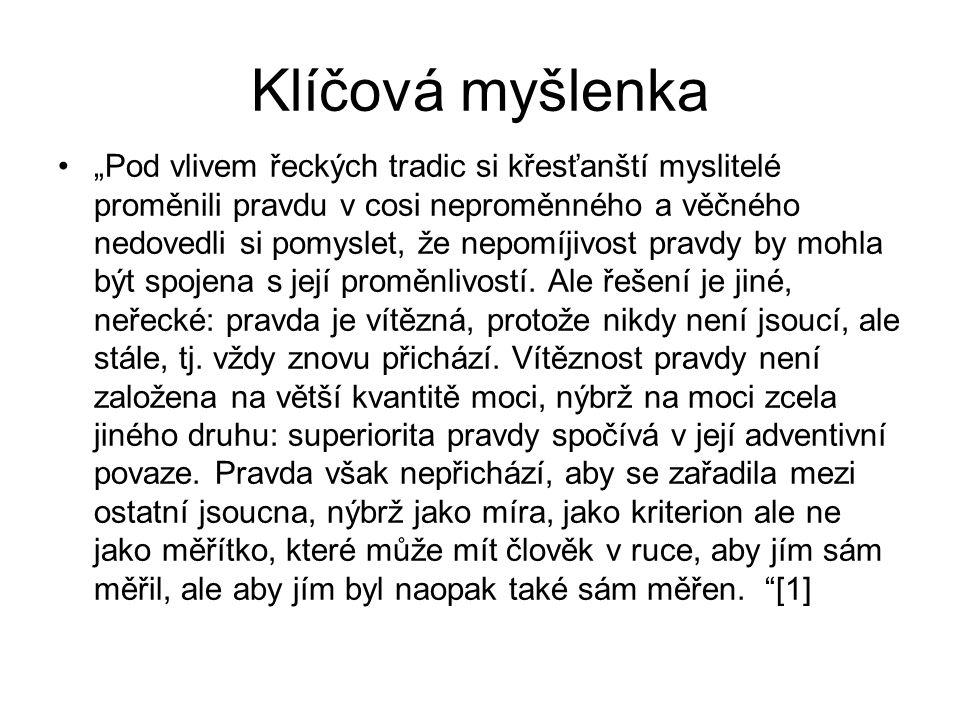 Odkazy a zajímavosti http://protestant.evangnet.cz/category/autori/l adislav-hejdanekhttp://protestant.evangnet.cz/category/autori/l adislav-hejdanek http://www.distance.cz/rocnik-1998/25-rocnik- 1998/1-cislo/869-ladislav-hejdanek- nepredmetnost-v-mysleni-a-ve-skutecnostihttp://www.distance.cz/rocnik-1998/25-rocnik- 1998/1-cislo/869-ladislav-hejdanek- nepredmetnost-v-mysleni-a-ve-skutecnosti http://www.youtube.com/watch?v=- fTOkQ1bTMEhttp://www.youtube.com/watch?v=- fTOkQ1bTME http://www.reflexe.cz/File/43%20Matejckova %20129-137.pdfhttp://www.reflexe.cz/File/43%20Matejckova %20129-137.pdf