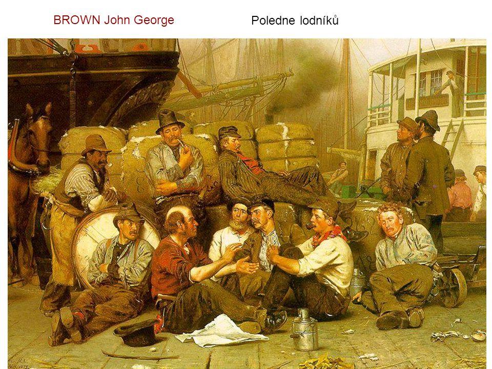 Svatební průvod - 1873 BRION Gustave