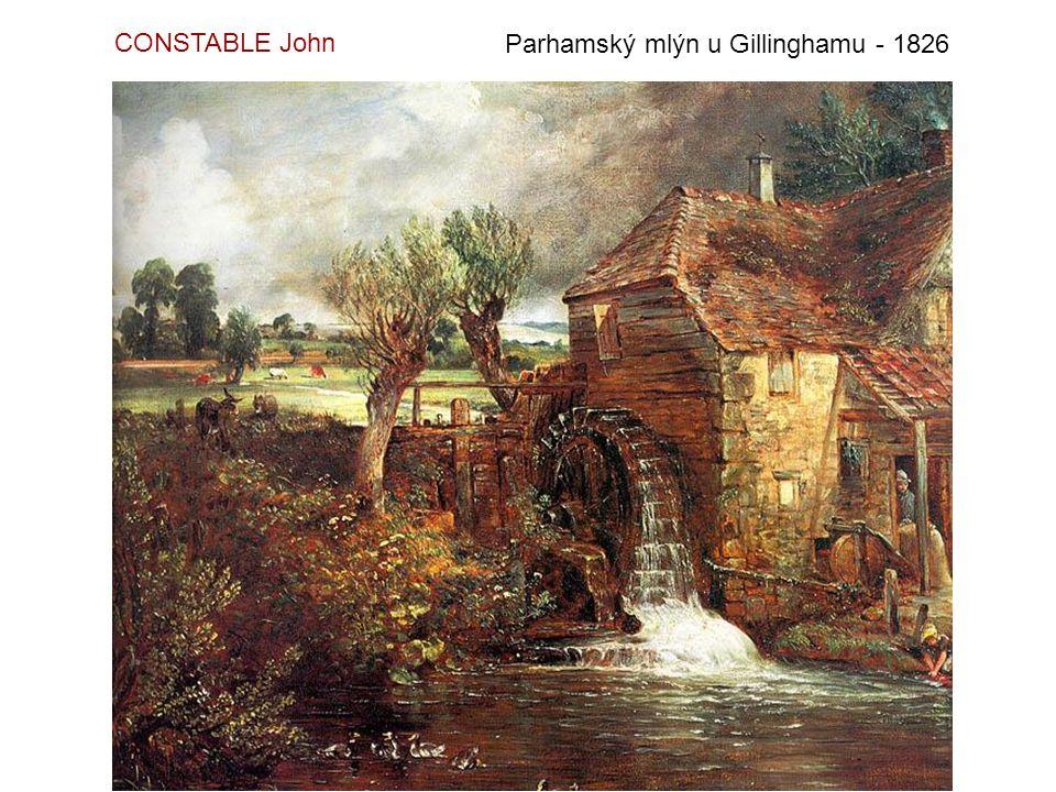 Vrány na stromech - 1822 FRIEDRICH Caspar David