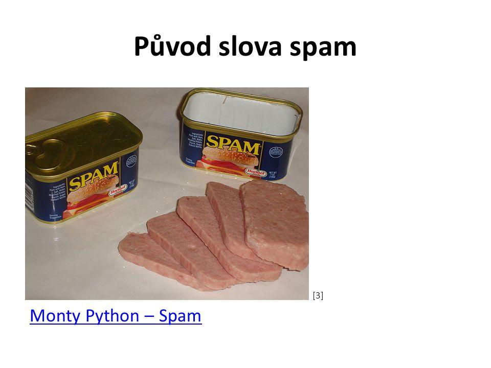 Původ slova spam Monty Python – Spam [3]