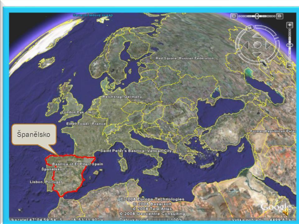  Španělské království je druhou největší zemí západní Evropy, hned po Francii.