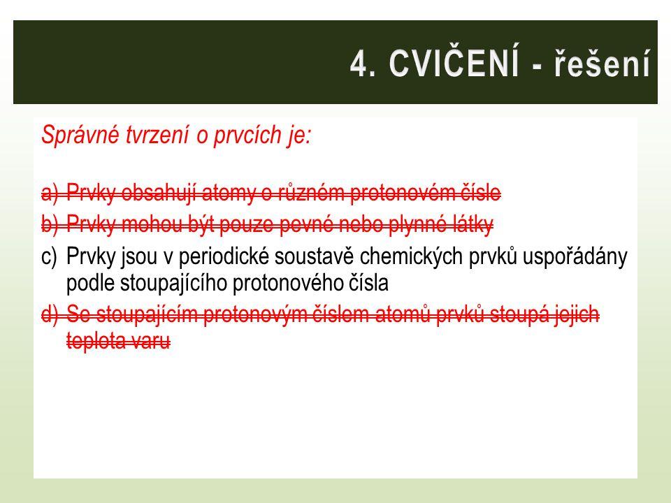 Které slovo mezi ostatní tři nepatří svým významem? a)síra b)atom c)molekula d)ion