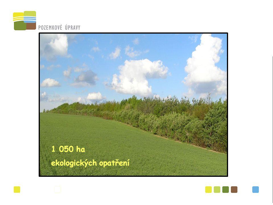 1 050 ha ekologických opatření