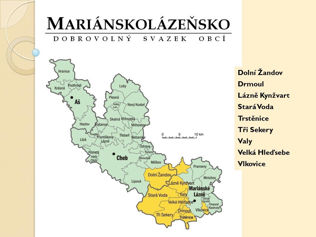 Charakteristika - Svazek založen v roce 2003 - 9 venkovských obcí v okolí Mariánských Lázní bez dominantní obce - celkem cca 8 000 obyvatel - nejmenší obec 130 obyvatel (Vlkovice), největší 2 200 (Velká Hleďsebe) - v roce 2010 se ke Svazku připojila Obec Trstěnice