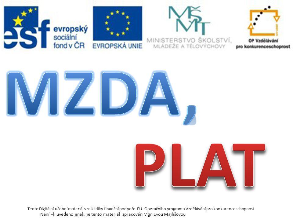Myšlenka: Odvedu určitou práci a za ní obdržím plat, mzdu, odměnu. http://bestpage.cz/