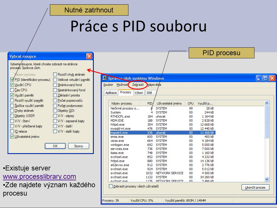 cvičení 1.Zjistěte jaké porty máte otevřeny na vašem PC 2.Spusťe Internet Explorer a zjistěte jaké porty máte otevřeny na vašem PC 3.Připojte se do sdílené složky vzdáleného počítače a zjistěte jaké porty máte otevřeny na vašem PC