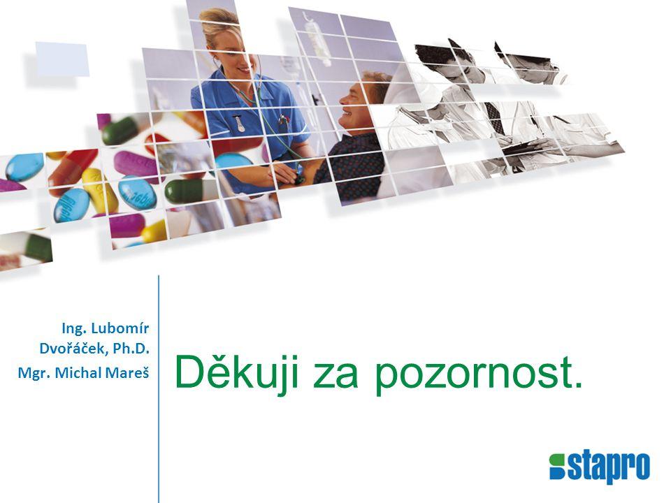Děkuji za pozornost. Ing. Lubomír Dvořáček, Ph.D. Mgr. Michal Mareš