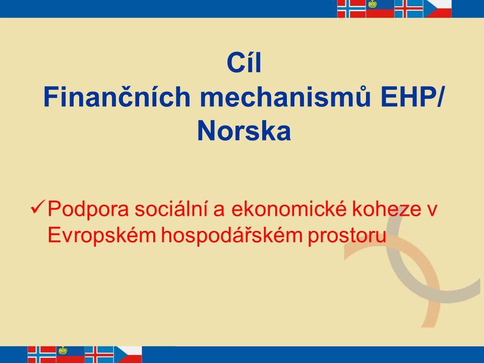 Prioritní oblasti Uchovávání evropského kulturního dědictví Ochrana životního prostředí Rozvoj lidských zdrojů Zdravotnictví a péče o dítě Podpora udržitelného vývoje Vědecký výzkum a vývoj Implementace Schengenského acquis Technická pomoc