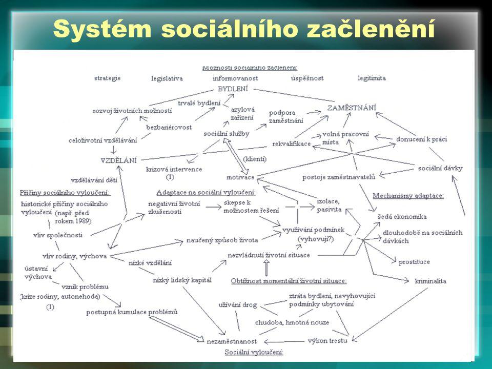 Systém sociálního začlenění