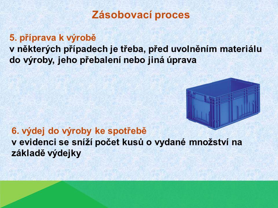 Zásobovací proces 5.