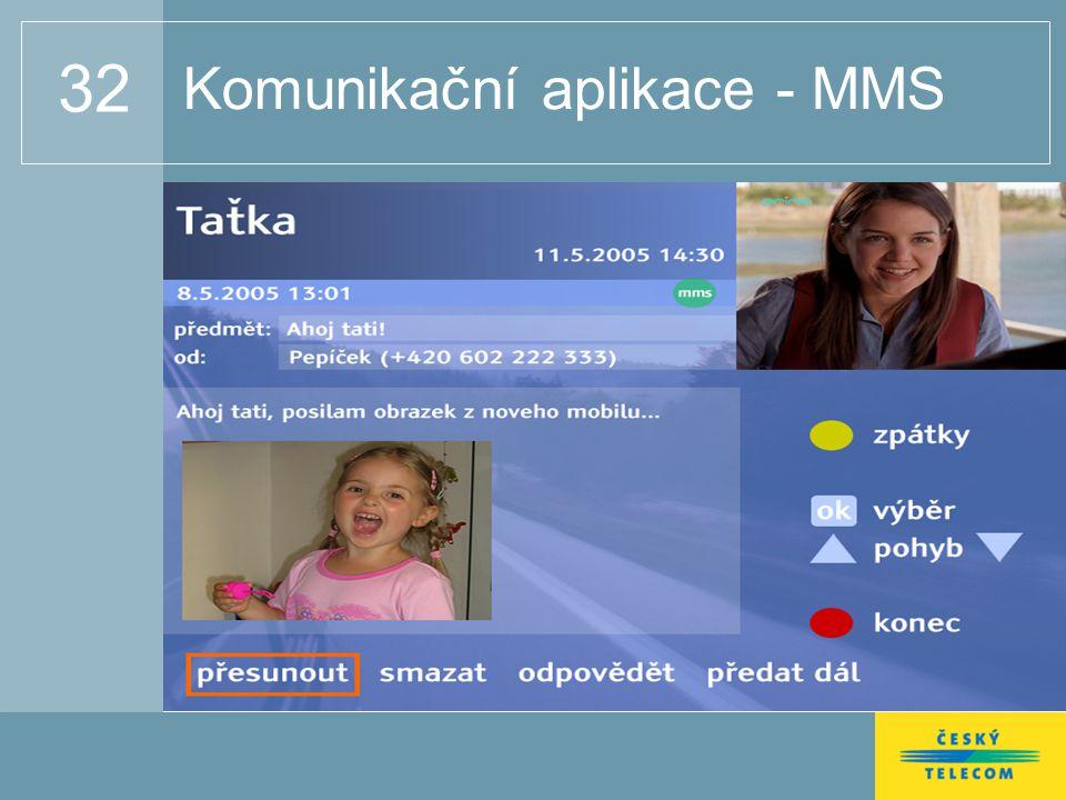 32 Komunikační aplikace - MMS