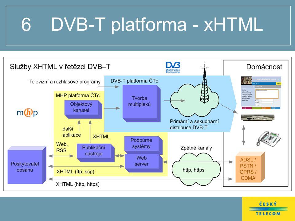 6 DVB-T platforma - xHTML
