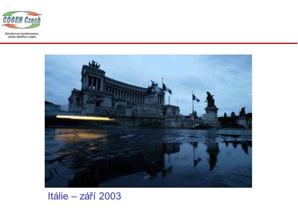 Itálie – září 2003
